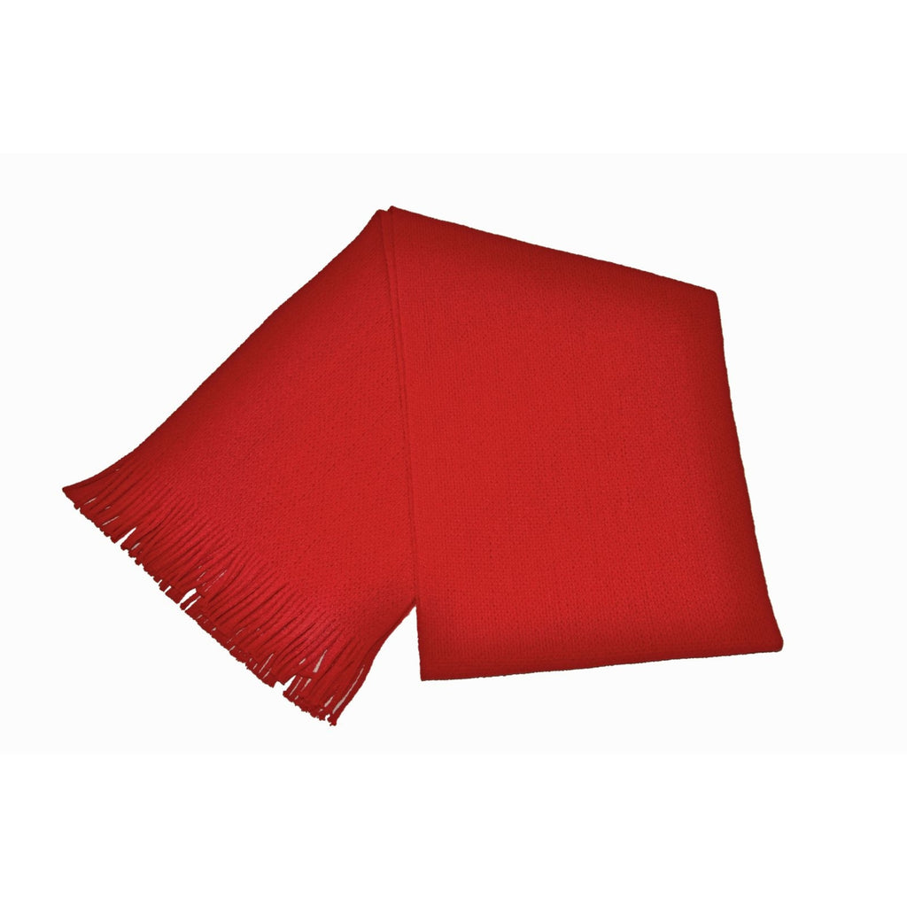 Red Acrylic Scarf - due early September