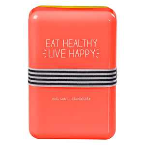 Happy Jackson Eat Healthy Live Happy Lunchbox