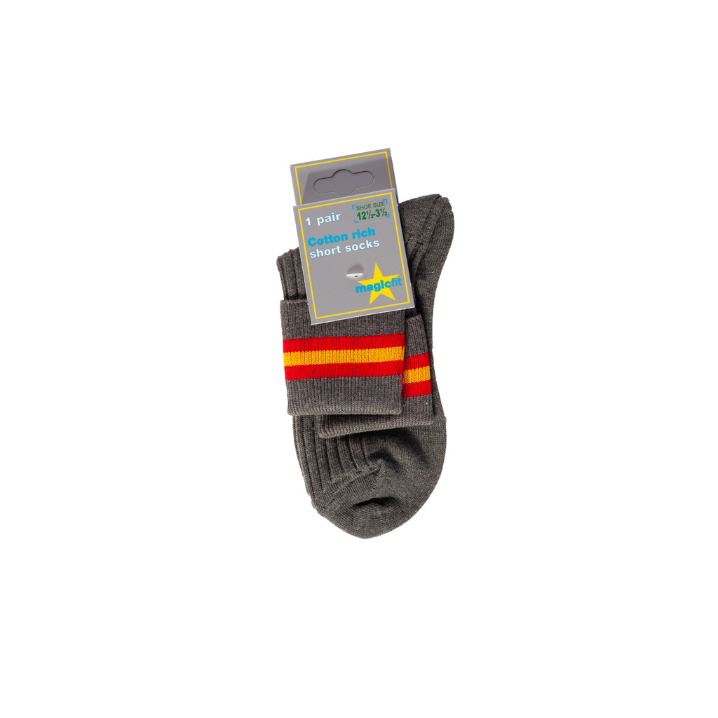 Buckingham Preparatory School Short Socks