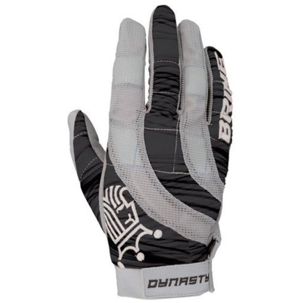 Brine Dynasty Lacrosse Gloves Black/Grey