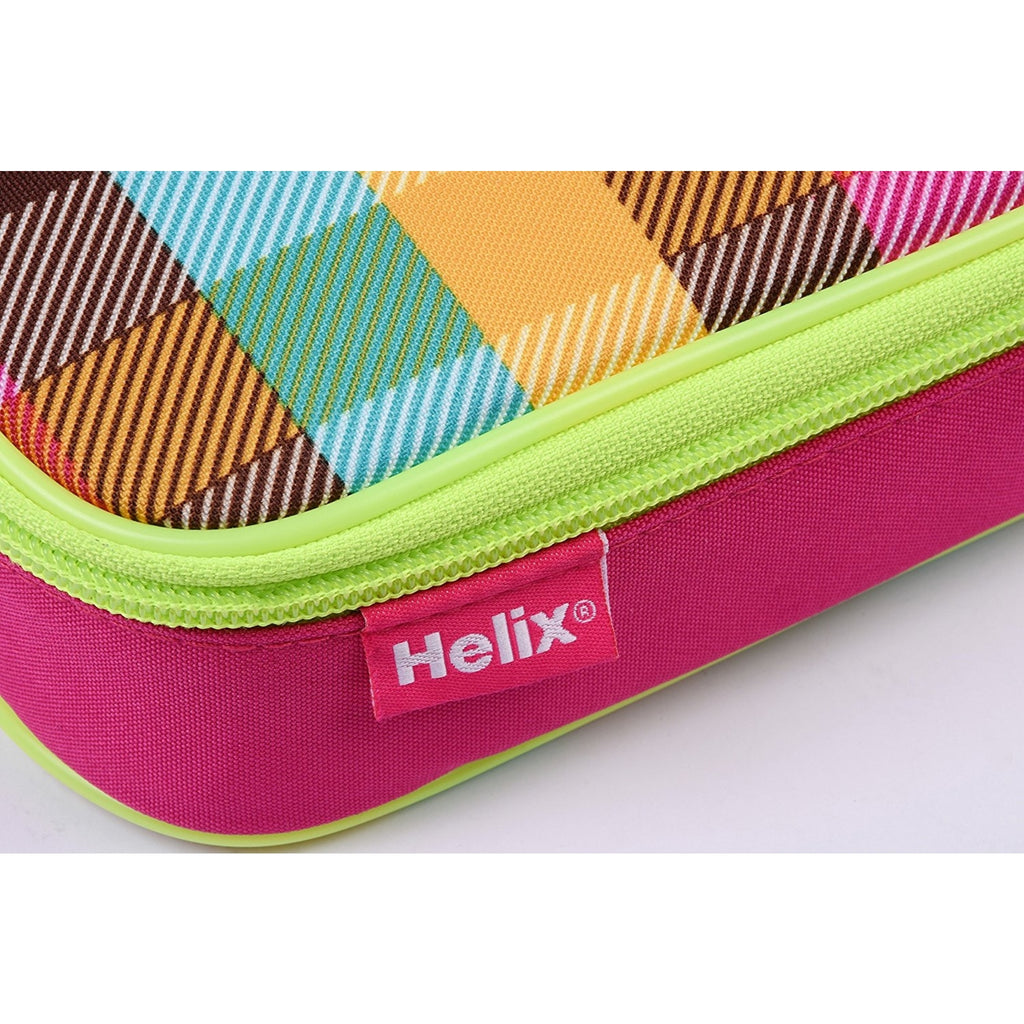 Neon Jumbo Patched Pencil Case