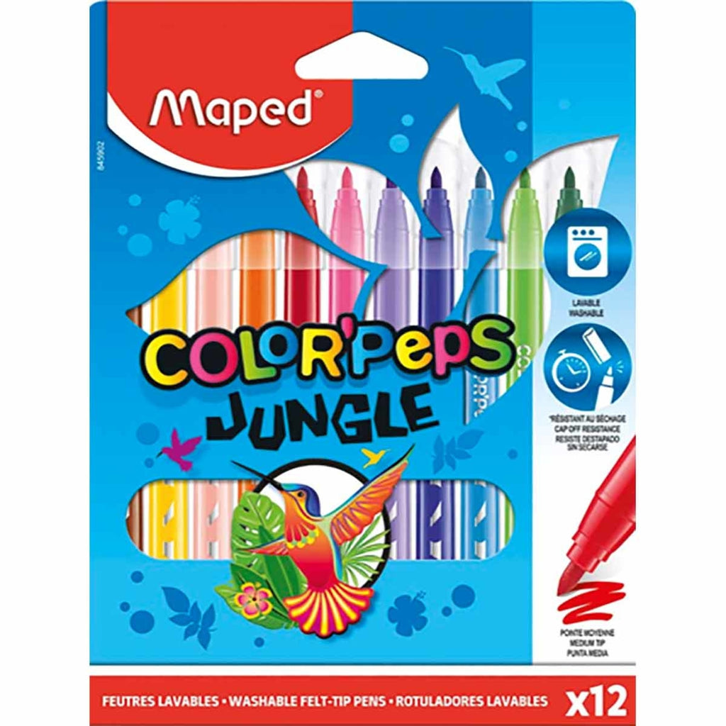Color'Peps Felt Tips Jungle