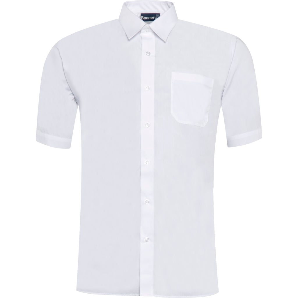 White Short Sleeve Twin Pack Shirt