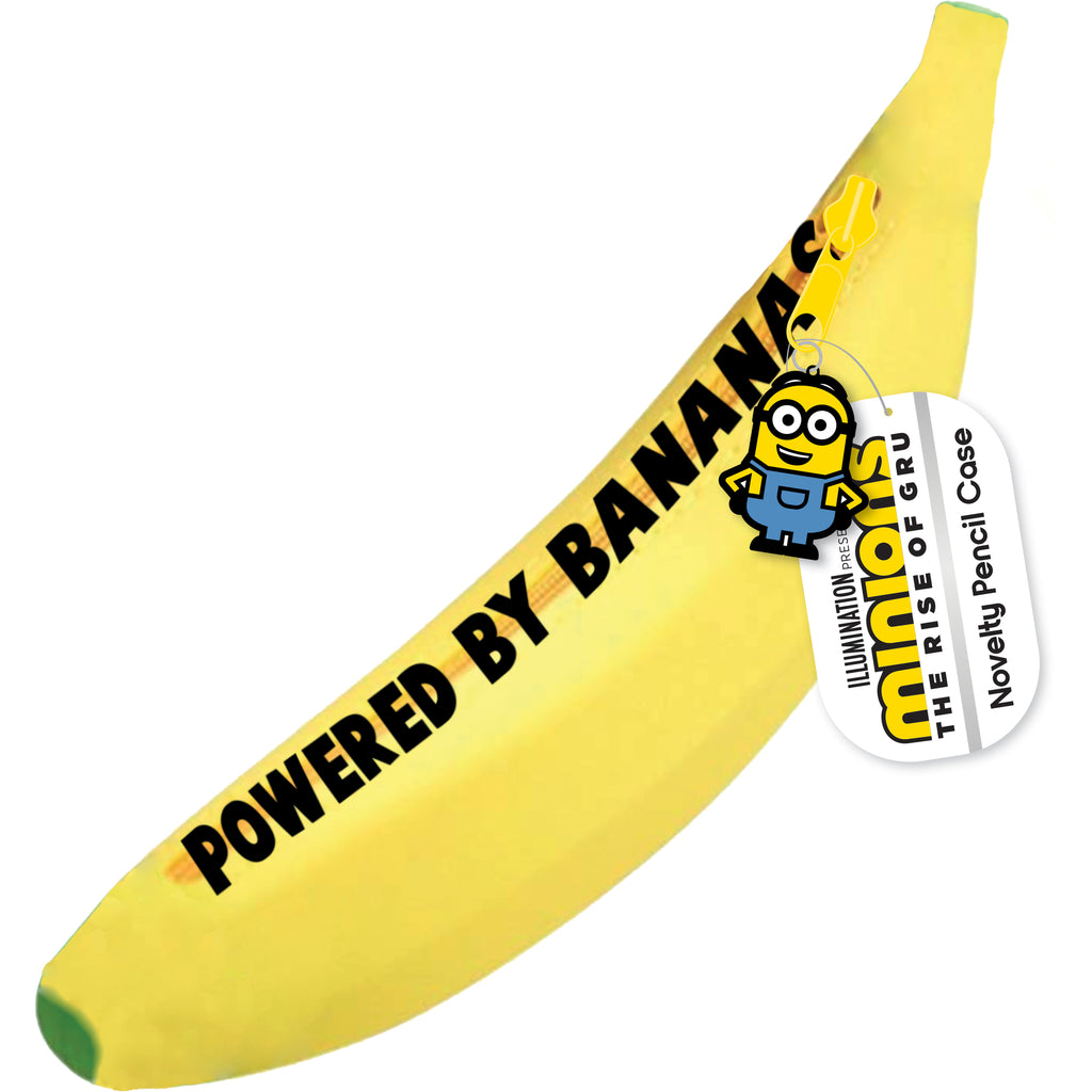 Minions Banana Pencil Case MSNPC2