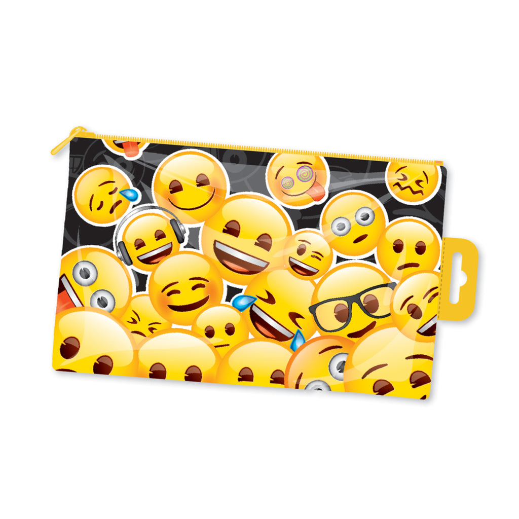 Emoji Flat Pencil Case EMPCC5