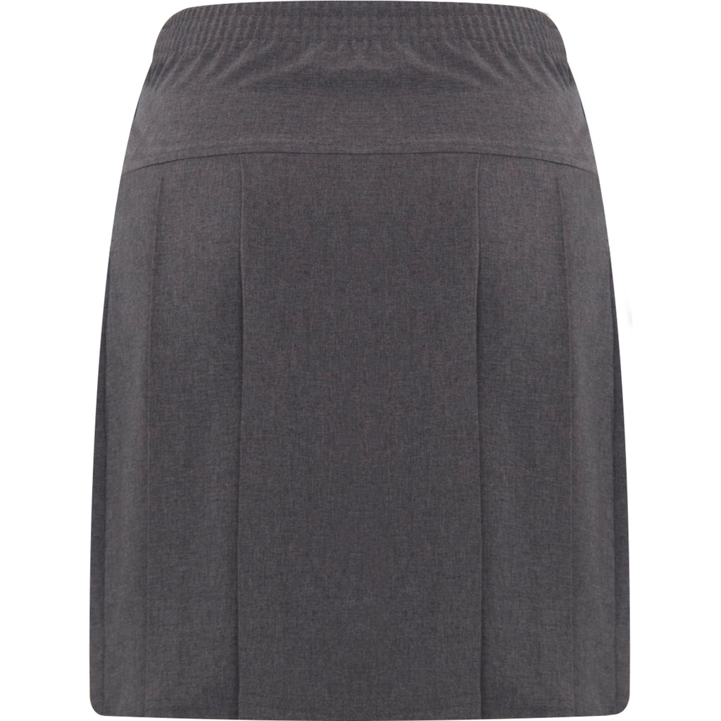 Grey Banbury Pleated Skirt