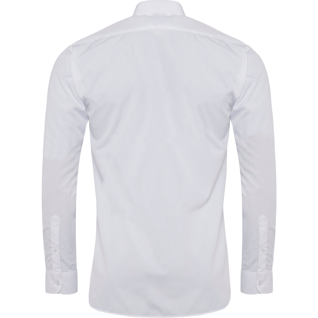 White Long Sleeve Twin Pack Shirt