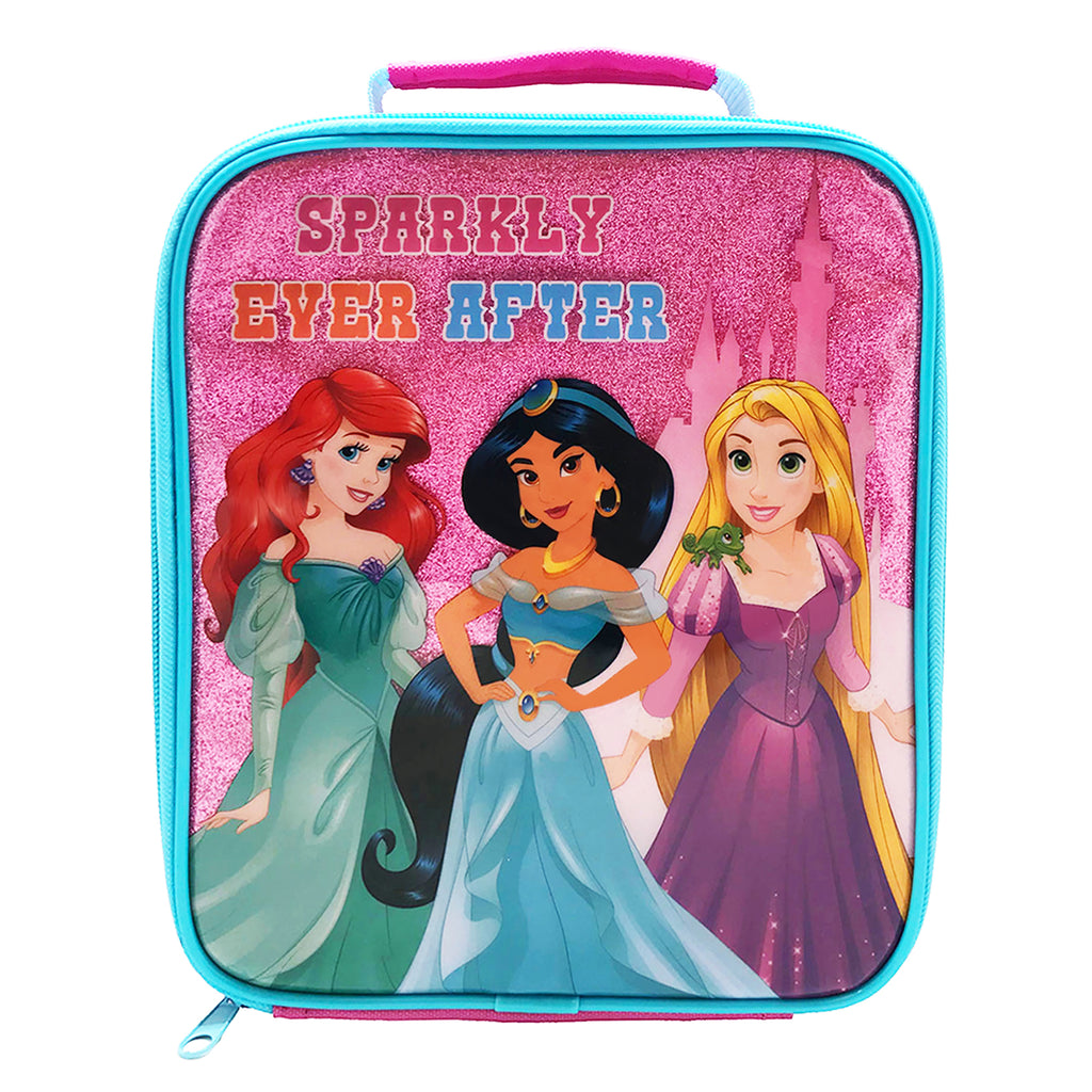 Disney Forever Princess Sparkly Lunch Bag and Bottle