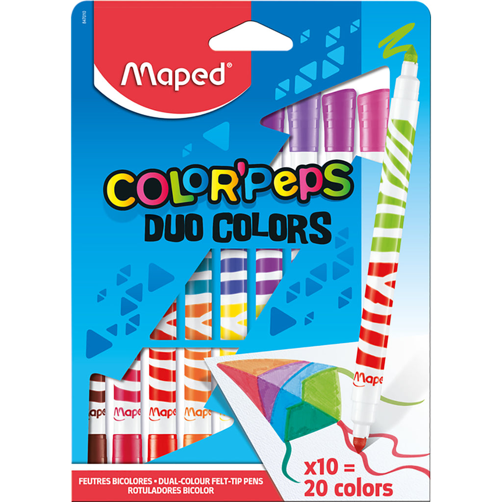 Duo Color'Peps Felt Tips
