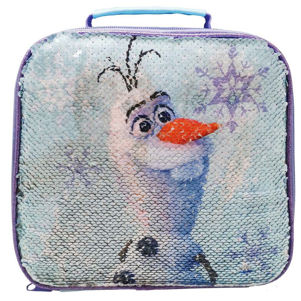 Frozen 2 Sequin Reveal Lunch Bag and Bottle
