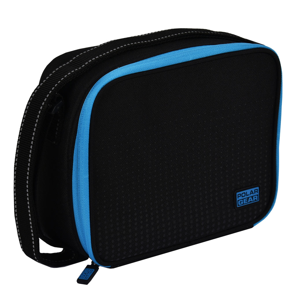Munich Cool Bag Optic Dot Blue Lunch Bag