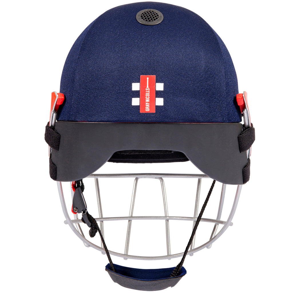 Navy Atomic 360 Cricket Helmet with Headguard 360