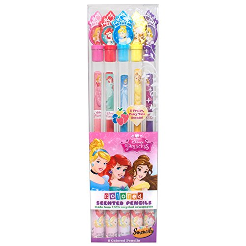 Princess Coloured Smencils