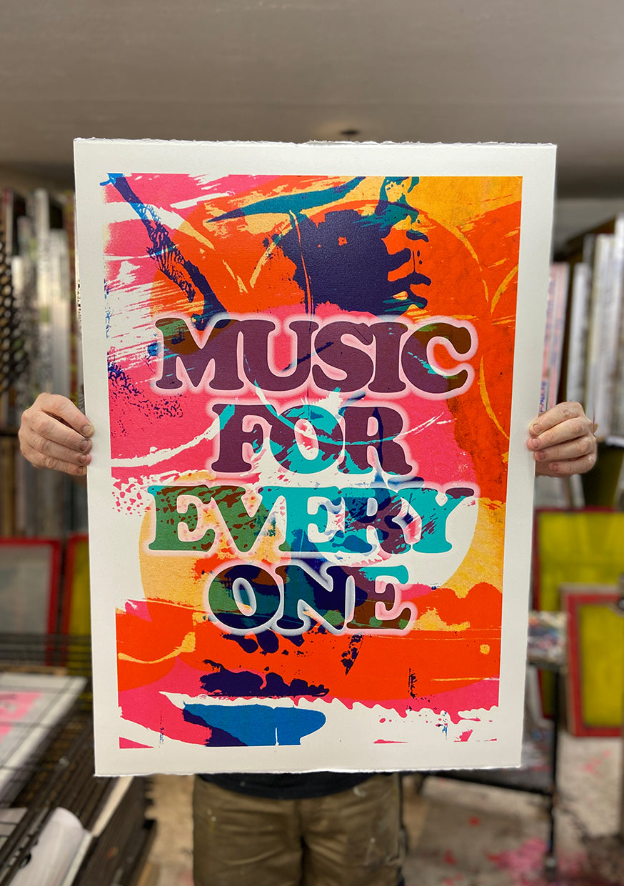MUSIC FOR EVERYONE // £150