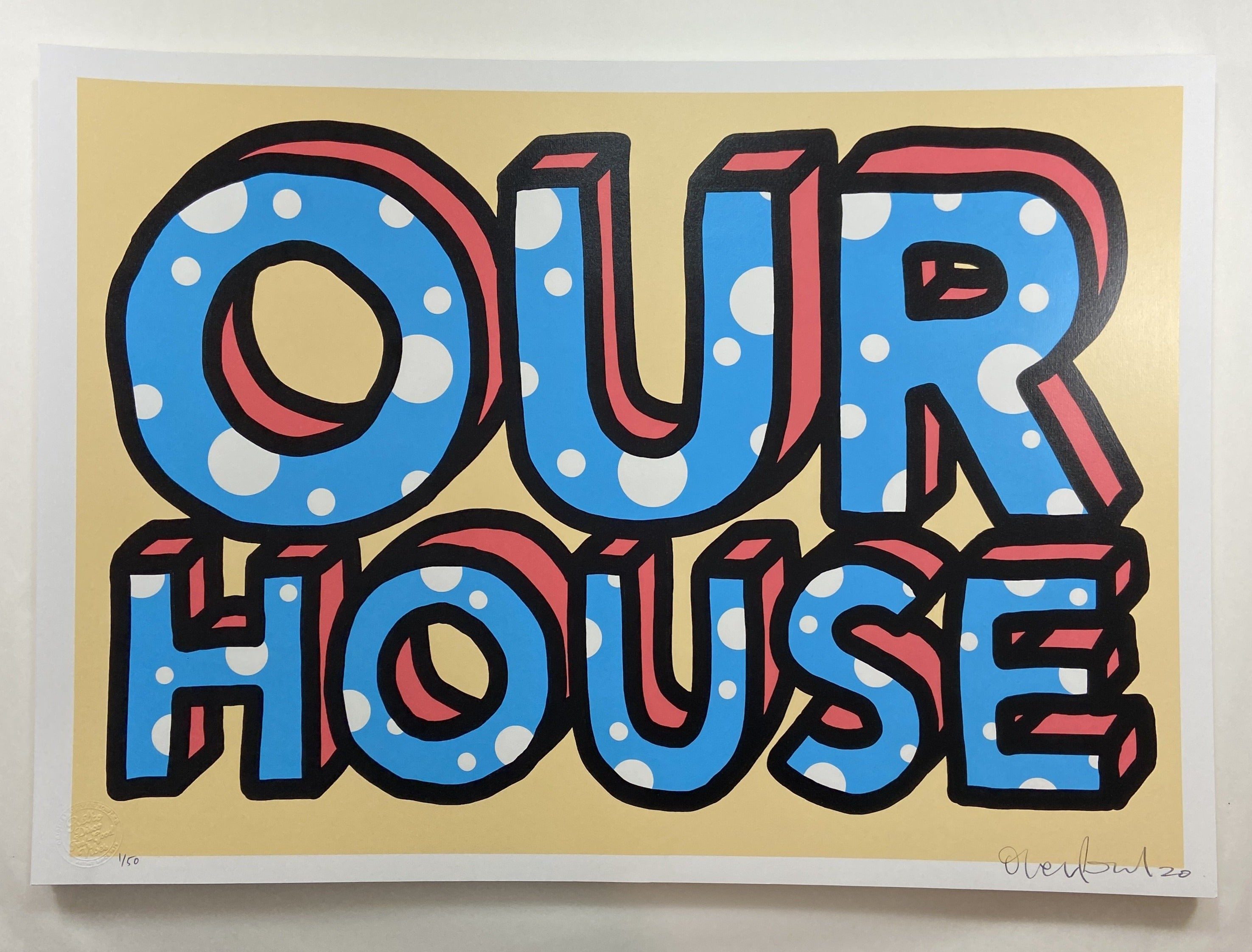 Our house // £150
