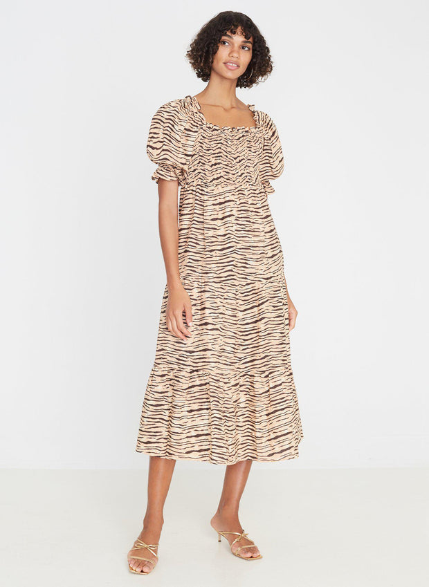 De christin midi dress-Kjoler-Bogartstore