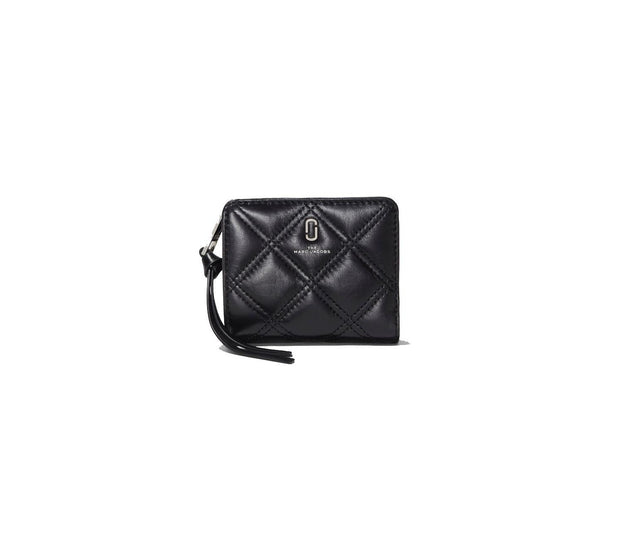 The Quilted Softshot Mini Compact Wallet-SLG-Bogartstore
