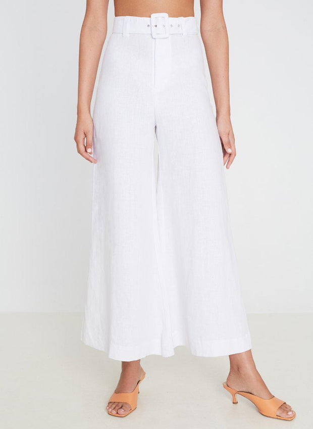 Rose Wide Leg Pants-Bukser-Bogartstore