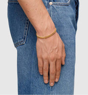 Curb Bracelet L-Tom Wood Jewelry-Bogartstore