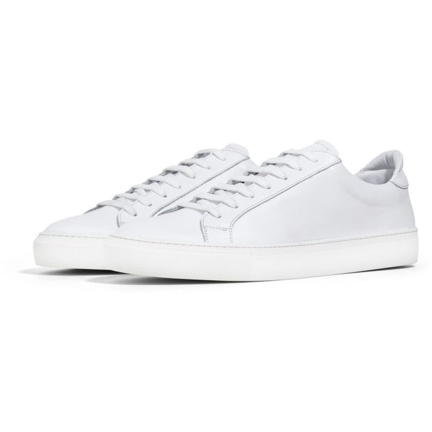 White leather-Sko-Bogartstore