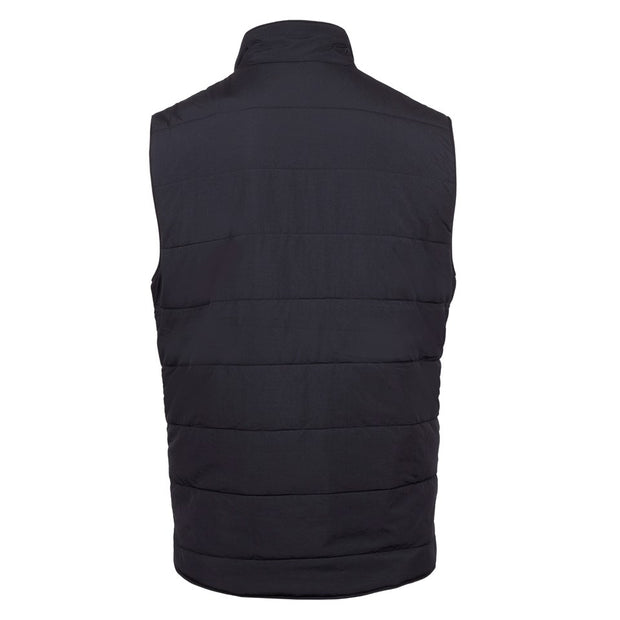 Quilted nylon vest
