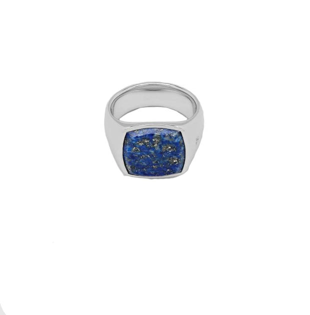 Cushion Blue Lapis-Ring-Bogartstore