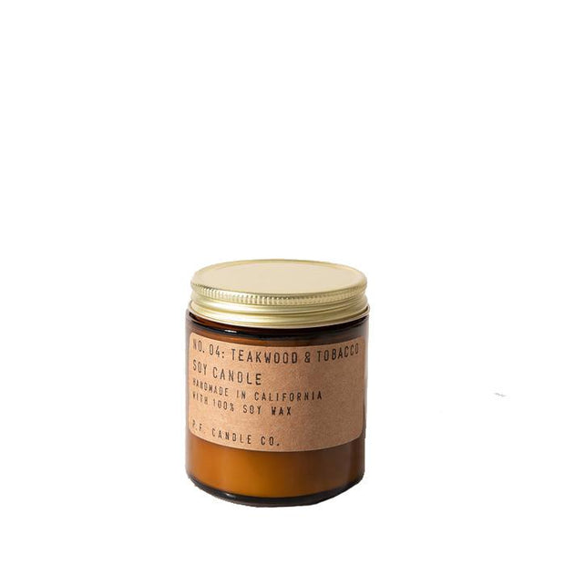 Duftlys No.04 Teakwood & Tobacco small-P.F Candle Co-Bogartstore
