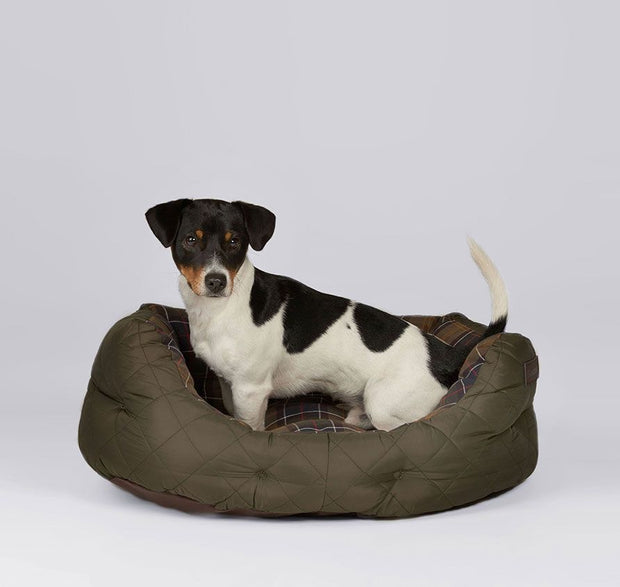 Quilted dog bed 24-Div Accessories-Bogartstore