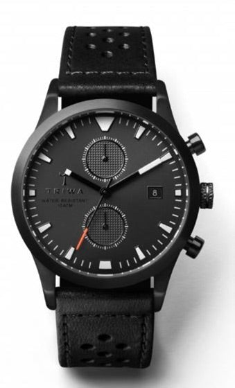 Sort of Black Glow Chrono-Klokke-Bogartstore