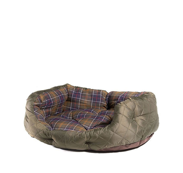Quilted dog bed 30-Life-Bogartstore