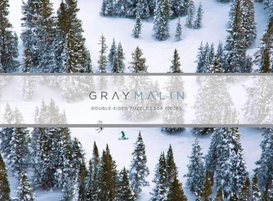 Gray Malin The Snow Two-sided puzzle-Life-Bogartstore