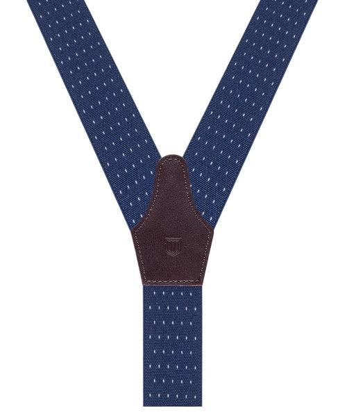 Braces Pindot Navy-Div Accessories-Bogartstore