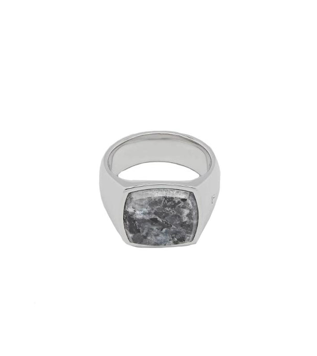 Cushion Larvikite (M)-Ring-Bogartstore
