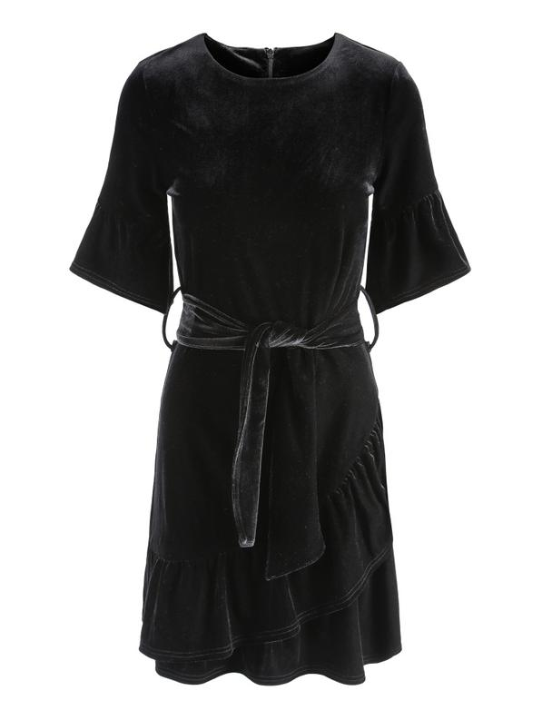 Charlisse velour dress-Kjoler-Bogartstore