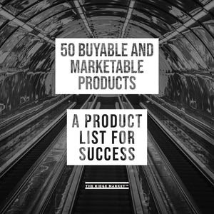 50 Profitable / Marketable Products