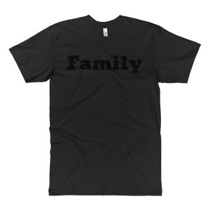 Family Double Black T-Shirt