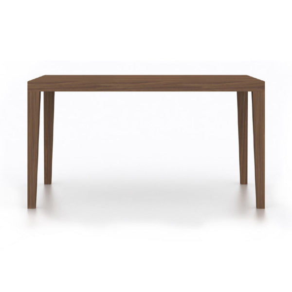 Walnut rectangle dining table