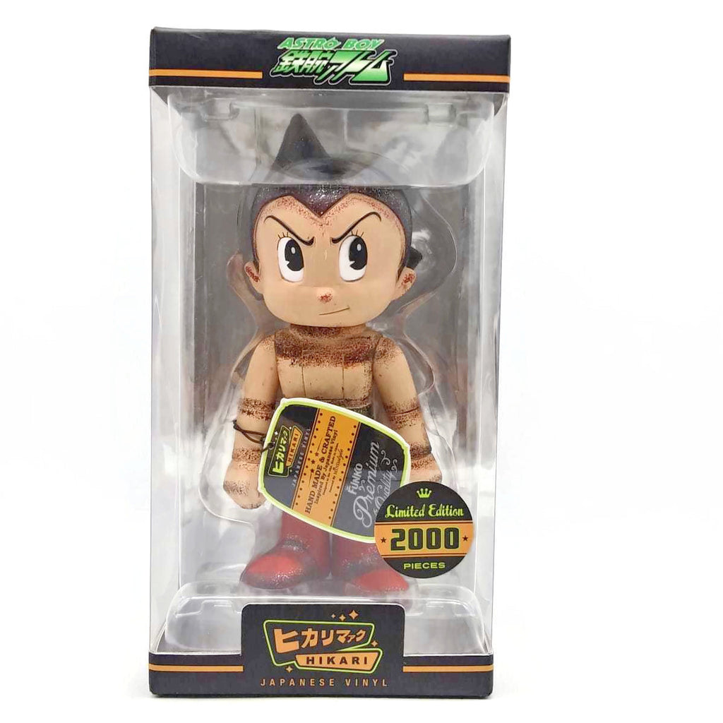 Distressed Astro Boy Hikari Vinyl Figure Limited Edition Collectible