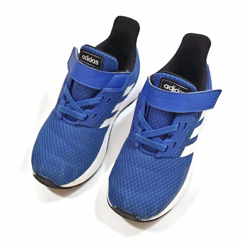 Addidas Running Shoes Blue Junior/Youth Size 10 K (US) Hook/Loop Closure