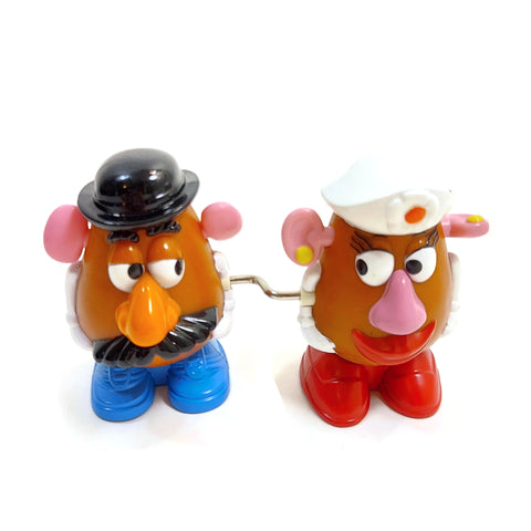 Disney Toy Story Collection Mr. And Mrs. Potato Head Doll Figurine