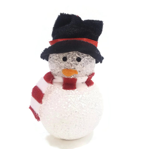 Ornaments Snowman Hanging Christmas Tree Decoration Holiday Seasons Gifts Black