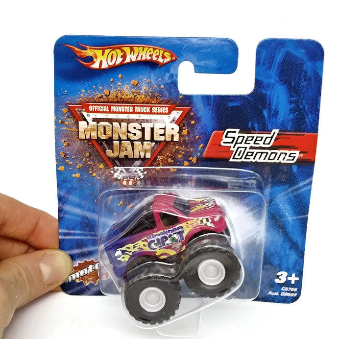 Hot Wheels Monster Jam Speed Demons Collectible - Virginia Giant - NEW !