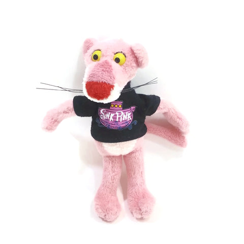 "The Pink Panther Singer ""Sink Pink"" Soft Doll, 6""high"