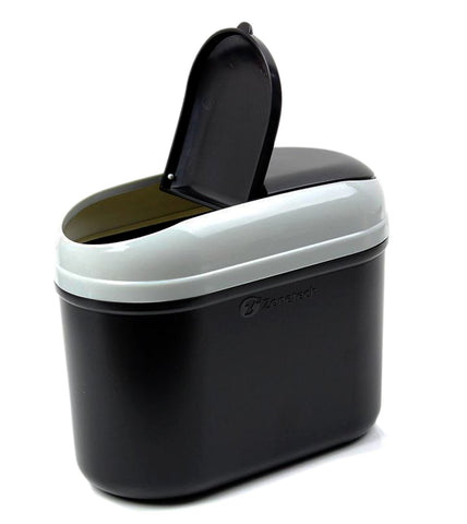 Zone Tech Car Trash Can Black – NEW