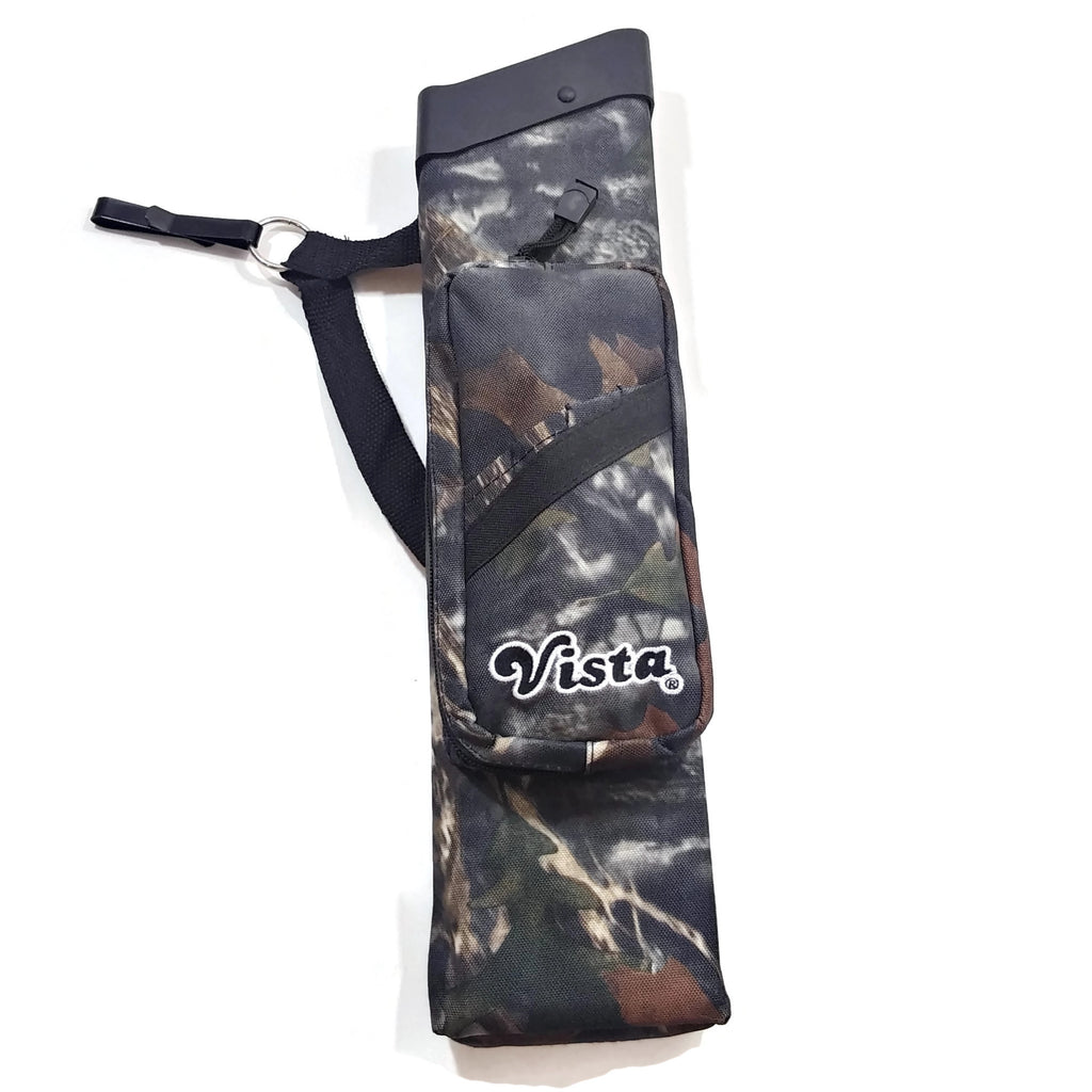 Vista Archery Brave Quiver 3 Tube Camo New