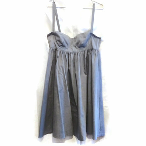 See By Chloé Sleeveless Gray Mini Dress