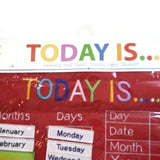 Alma's Designs Today Is...Learning Wall Chart Days Months Season NEW