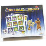 Dreidle Spin 'N' Match Bingo Hanukkah Board Game Chanukah Gift Toy