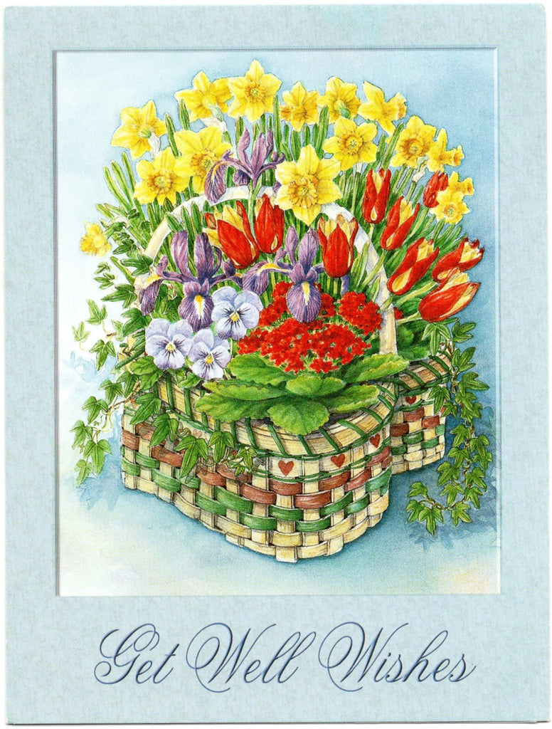 Well Wishes Health Blessings Greeting Card