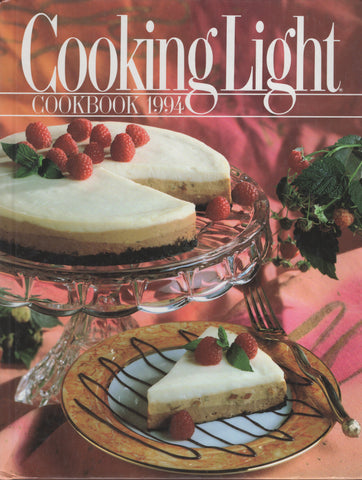 Cooking Light Cookbook 1994 Hardcover